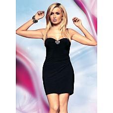 Черное эротичное платье  Черное эротичное платье