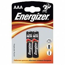 Батарейки AAA Energizer Base LR03 2 шт  Мизинчиковые батарейки Energizer типа ААА, алкалиновые.