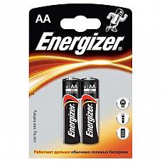 Батарейки AA Energizer Base LR6 2 шт  Пальчиковые батарейки Energizer типа АА, алкалиновые.