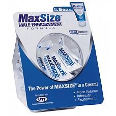 Крем для улучшения мужской эрекции MAXSize  Благодаря ингредиенту Butea Superba («травяная виагра») этот крем уникален по своим свойствам.<br><br> Достаточно нанести его на головку и ствол члена, как он мгновенно впитается. А потом подарит приятное чувство прохлады, на смену которому придёт ощущение тепла. <br><br> Крем MAXSize – палочка-выручалочка для мужчин, страдающих эректильной дисфункцией. Небольшое количество крема, и член восстаёт и рвётся в сексуальный бой!