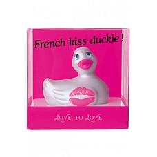 Вибромассажер FRENCH CISS DUCCIE белый  УТОЧКА от LOVE TO LOVE.