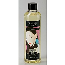 Массажное масло «Жасмин» 250 мл  Ароматное масло ухаживает за кожей, делая ее мягкой и шелковистой. Изысканный аромат пробуждает эротическое настроение.