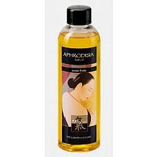 Масло для ванны «Афродизия» с запахом экзотических фруктов 250 мл  Ароматное масло для ванны, обладает возбуждающим цветочным ароматом. Ухаживает за кожей и придает ароматный запах, благодаря афродизиакам повышает  жизненные силы организма и усиливает  половую активность