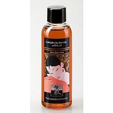 Масло для тела с Шоколадно-мятным ароматом 100 мл  Ароматное масло ухаживает за кожей, делая ее мягкой и шелковистой