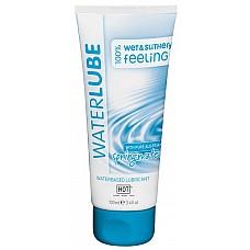 Лубрикант на основе чистой родниковой воды «WaterLube» 100 мл  Обладает хорошими смазывающими и увлажняющими свойствами, улучшает скольжение, устраняя неприятные ощущения во время полового акта.