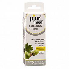 Мужской пролонгирующий спрей Pjur Med, 20 мл  Пролонгирующий спрей с экстрактом коры дуба и пантенолом.