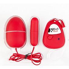 Вибронабор с пультом ДУ,5 режимов вибрации, красный  Вибронабор с пультом ДУ,5 режимов вибрации, красный