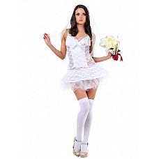 Костюм Невеста 02561SM  На свадьбе невеста всегда самая красивая и желанная № все взоры устремлены только на нее.
