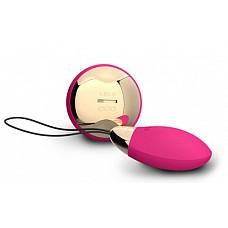 Инновационный массажер Lyla 2 Design Edition Cerise (LELO)  Покрытие: Матовый силикон/ Блестящий ABS пластик.
