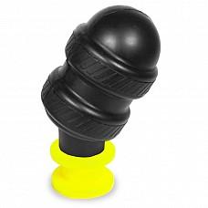 Keep Burning Анальный стимулятор из силикона НР04Y, цвет черно-желтый