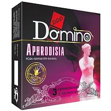 Презервативы Domino Aphrodisia №3  Domino Aphrodisia №3 - элитные презервативы с волнующими запахами афродизиаков.