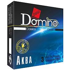 Презервативы Domino Аква №3  Domino Аква №3 №Суперувлажненные универсальные презервативы, обладающие одновременно высокой эластичностью и прочностью, что делает использование максимально безопасным.