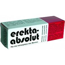 Крем Erekta-Absolut  Уникальный крем для гигиены мужских половых органов. Он обладает приятным нежным запахом, который маскирует собственным мужской мускусный аромат. Помимо гигиенической функции крем Erekta – Absolut обладает возбуждающим действием. Он способствует повышению мужского либидо, снятию усталости, улучшению качества сексуальных ощущений, продлению эрекции. Крем Erekta – Absolut способствует усилению сексуальных ощущений, гармонизации отношений с партнером, повышению самооценки. Теперь Вы всегда будете уверены в себе, своих силах и возможностях!