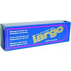 Крем Largo Special Cosmetic  Предназначен для возбуждающего массажа интимных зон у мужчин, а также для повышения уровня эрекции при половом акте. Усиливает потенцию. Улучшает эрекцию. Способствует более длительному половому акту. При регулярном применении можно наблюдать увеличение Размера пениса.