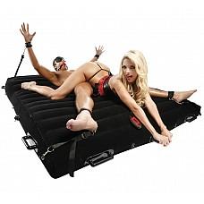 Надувная кровать для фетиш-игр с комплектом секс-игрушек  Крупнейший набор для сексуальных игр и воплощения эротических фантазий.