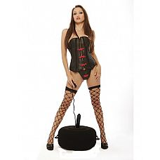 Надувное сидение Inflatable Hot Seat, Черный  Надувное сидение с мультискоростным вибратором из мягкого винила.
