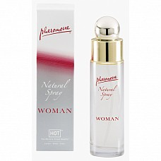 Концентрат женских феромонов HOT Natural Spray, 45 мл  Концентрат женских феромонов в виде спрея.