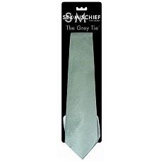 """Галстук для особых случаев The Grey Tie  Изысканная модель в стиле романа-бестселлера """"50 оттенков серого""""."""