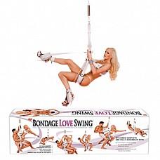Эротические качели для секс-позиций 1456-7 BX TS  Одно из самых популярных изобретений секс-индустрии! Эротически качели, с помощью которых Вы можете сделать секс наиболее комфортным и разнообразным.