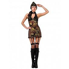 Костюм Военная академия  Костюм состоит из:  · платья с подвязками · головного убора · чулок