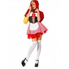 Костюм Красная шапочка  Костюм состоит из:  · платья · накидки