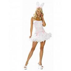 Костюм Пасхальный кролик  Костюм состоит из:  · платья с перьями · ушек