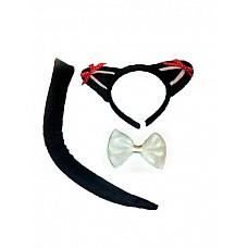 Набор черной кошки  Набор состоит из  · ушек · бабочки · хвоста