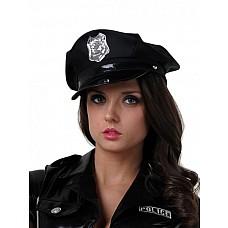 Фуражка полицейского  Шляпа полицейского (значки в ассортименте)