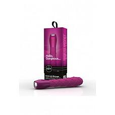 Вибромассажер ажурный CERES LACE розовый  Вибромассажер ажурный CERES LACE - водонепроницаемый вибратор с 7 интенсивными режимами вибрации, бесшумный, с дизайнерской ручкой «под стекло», поверхность из высококачественного мягкого, гладкого, приятного на ощупь и гипоаллергенного силикона с эксклюзивной ребристой текстурой.
