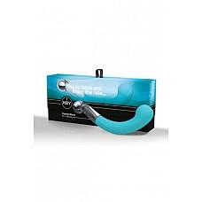 Дилдо COMET PEARL бирюзовый  Дилдо COMET PEARL – водонепроницаемый дизайнерский фаллоимитатор инновационной и эргономично изогнутой формы.