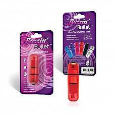 Компактный красный стимулятор вибропулька, 6 см  Мощный и удобный вибратор красного цвета, который позволяет простимулировать все эрогенные зоны как женщин, так и мужчин.<br><br> Небольшой Размер в 6 см позволяет легко транспортировать вибро-пульку и хранить в любом месте.<br><br> Водонепроницаемая пулька обеспечивает мощную и продолжительную работу вибрацию от трех батареек типа таблетка (идут в комплекте). Очень практичная и удобная в обращении.