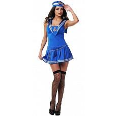 Костюм Восхитительная морячка  Костюм состоит из:  · головного убора · платья · чулок