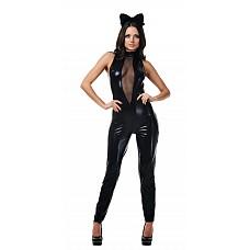 Костюм Чёрная кошка  Костюм состоит из:  · комбинезона · головного убора