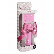 Массажер CRYSTAL MINI VIBE PINK 10065TJ  Компактный вибромассажер розового цвета с дистанционным пультом управления.