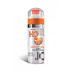 Ароматизированный лубрикант на водной основе JO Flavored Tangerine Dream , 5.25 oz (160 мл)  Ароматизированный лубрикант на водной основе JO Flavored Tangerine Dream - превосходный аромат мандариновой мечты и длительное скольжение.