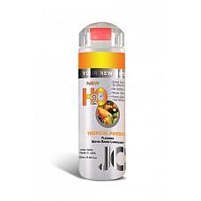 Ароматизированный лубрикант на водной основе JO Flavored Tropical Passion , 5.25 oz (160 мл)  Ароматизированный лубрикант на водной основе JO Flavored Tropical Passion - превосходный аромат фрукта страсти и длительное скольжение.