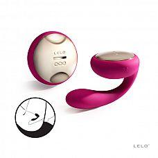 NEW! Вибромассажер для пар Ida (LELO), Фиолетовый  Настоящий бестселлер – массажер для пар, который совершает вращения и вибрирует!  Откройте для себя новый умопомрачительный способ разделить близость - Ida - массажер премиум класса, одеваемый женщинами во время занятий любовью.