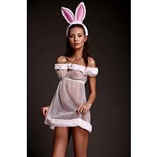 """Костюм """"Зайка Интриганка"""" Размер 42-44 2563-42-44  Нежный костюм зайчика в розовых тонах."""