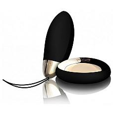 Черный инновационный массажер Lyla 2 Design Edition Black  Покрытие: Матовый силикон/ Блестящий ABS пластик.