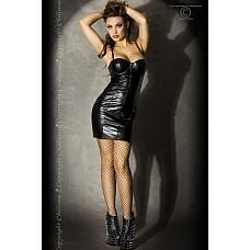 Мини-платье Chilirose Gothic Lady, M, Черный  Роскошное мини-платье из винилового материала.