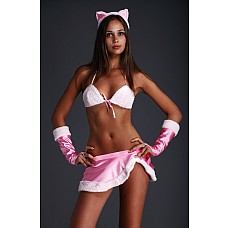 "Костюм ""Pink Kitti"" Размер 42-44 2426-42-44  Костюм кошечки."