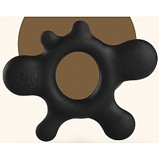 Черное эрекционное кольцо Rain  Размеры: 5,5 х 5,5 см.