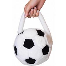 Сумка-футбольный мяч  Если Ваш мужчина - футбольный болельщик, эта сумочка как раз то, что Вам нужно! Он обязательно оценит то, что и Вы разделяете его увлечения! Отличный аксессуар для карнавального или игрового костюма.