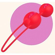 Ярко-оранжевые вагинальные шарики SMARTBALLS DUO  Вагинальные шарики со смещенным центром тяжести. Нежная, бархатистая поверхность делает использование более приятным и легким.