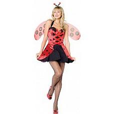 Костюм Сексуальная букашечка, XL  Очаровательная девочка-насекомое.