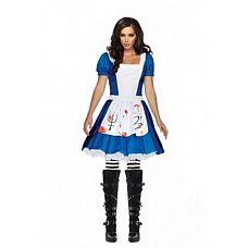 Платье «Алиса», M  Алиса выросла и теперь у неё немного другие интересы и желания.