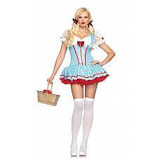 Игровое платье Красотка Дороти, S/M  Роскошное платье красотки Дороти с глубоким декольте.
