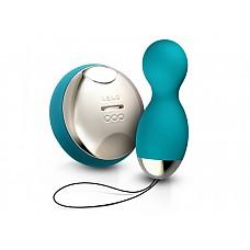Вагинальные шарики Hula Beads Ocean Blue с ДУ   HULA Beads™ первые в мире шарики наслаждения с дистанционным управлением, которые одновременно вибрируют и вращаются, принося совершенно новые сенсационные ощущения. <br><br>Нежно вставьте только вращающийся шарик и ощутите мощные вибрации вокруг ультра-чувствительных половых губ и клитора. <br><br>Или пойдите дальше, незаметно нося их, полностью вставив внутрь, так чтобы верхний шарик вращался стимулируя точку G, в то время как нижний шарик вибрирует воздействуя через 8 режимов стимуляций, каждый из которых регулируется беспроводным пультом ДУ.