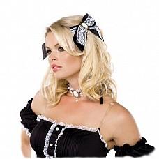 Аксессуары для игрового костюма, OS, Черно-белый  Комплект аксессуаров, которые сделают Ваш образ продуманным и еще более женственным.