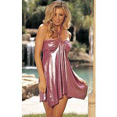Очаровательное блестящее платье